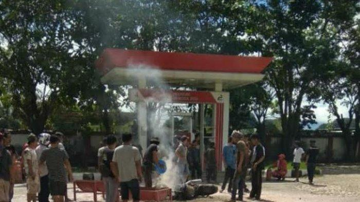 Kronologis Sepeda Motor Terbakar di SPBU Bungoro Pangkep