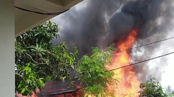 Kebakaran di Sidrap Hanguskan Rumah, Emas dan Uang Rp 10 Juta