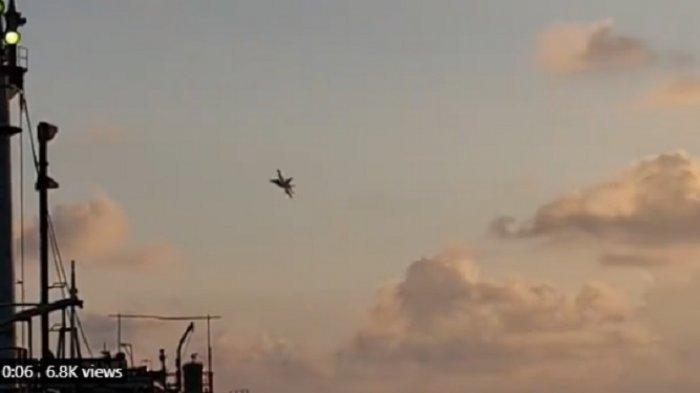 Pesawat Tempur F-18 Hornet AS Terbang Rendah di Natuna, Mengingatkan Peristiwa Bawean 2003 Lalu