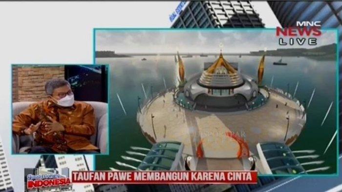 Taufan Pawe Ulas Makna Membangun Cinta di Good Morning Indonesia