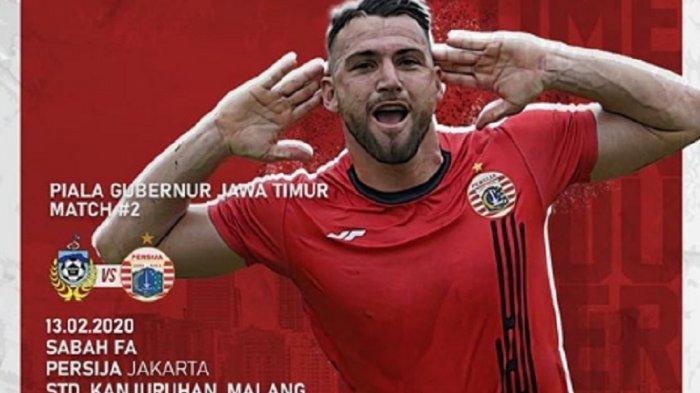 SEDANG BERLANGSUNG LINK Live Streaming TV Online MNC TV Sabah FA vs Persija, Tonton Gratis via HP