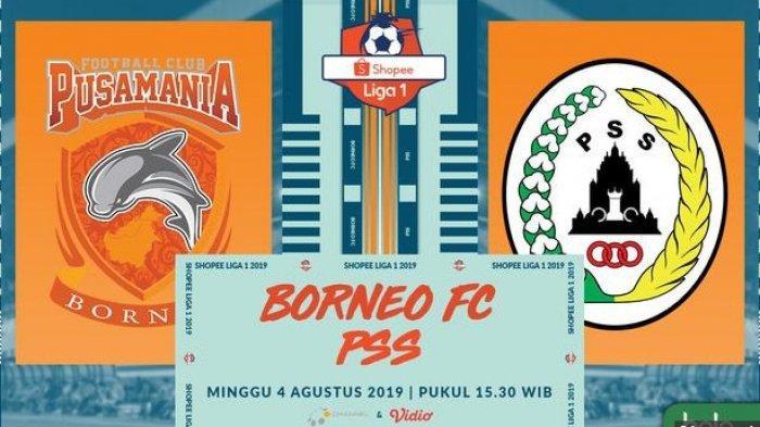 SEDANG BERLANGSUNG Live Score Borneo FC vs PSS Sleman di Liga 1 2019, Live OChannel, Pantau di HP