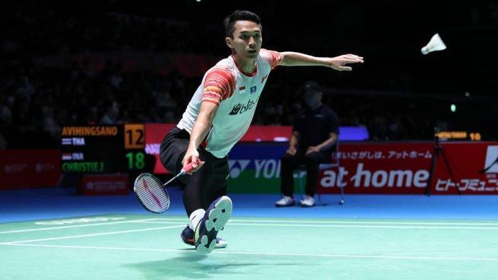 SEDANG BERLANGSUNG Semifinal Japan Open 2019-Jonatan Christie vs Jan O Jorgensen