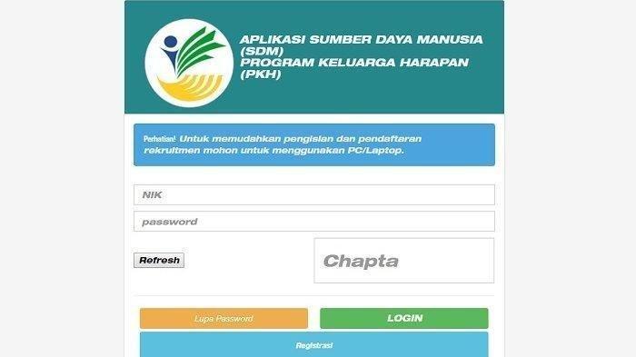 Segera Akses Ssdm Pkh Kemsos Go Id Daftar Pendamping Pkh Kemensos Sisa 9 Jam Lagi Syarat Dan Gaji Tribun Timur