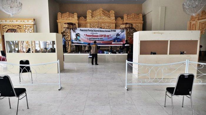 Senin, Rapid Tes Gratis Bagi Warga Bepergian dari Makassar
