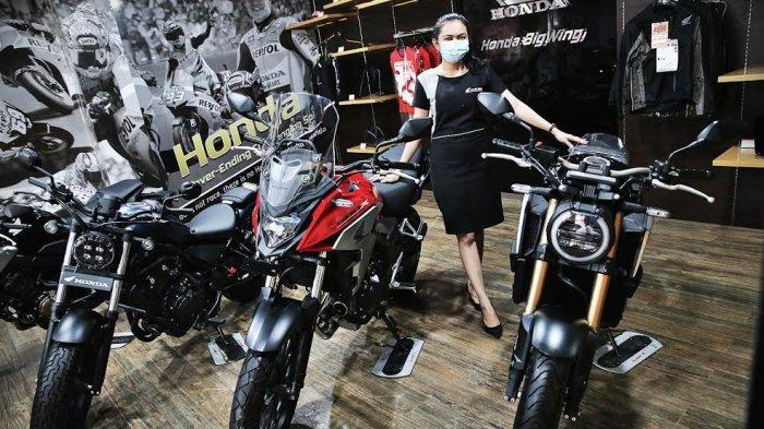 FOTO: Honda Big Wing, Dealer Eksklusif Astra Honda Motor