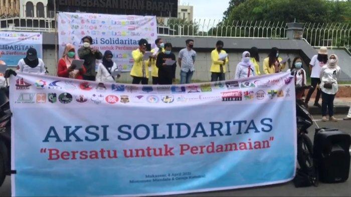 43 Organisasi Kumpul di Monumen Mandala Makassar