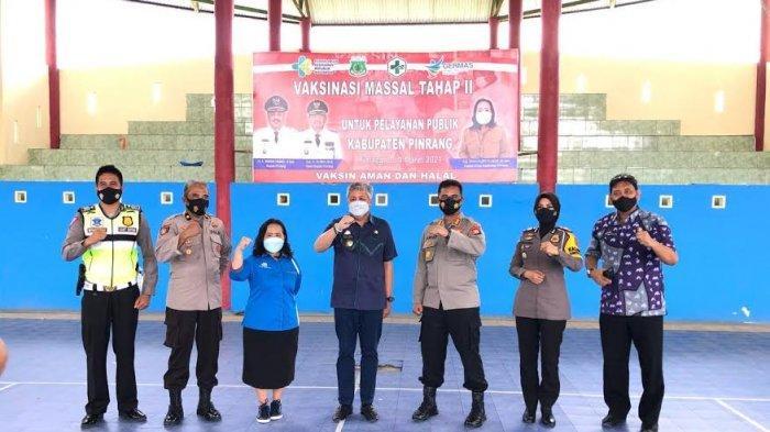 Sempat Terpapar Covid-19, Wakapolres Pinrang Batal Divaksin