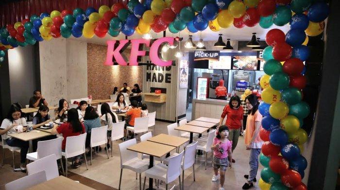 BERITA FOTO : KFC Hadir dengan Konsep Baru di Mall Pipo