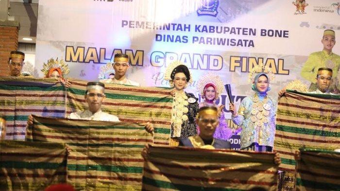 FOTO; Grand Final Pemilihan Duta Pariwisata Bone - sejumlah-peserta-tampil-saat-malam-grand-final-pemilihan-putra-putri-pariwisata-bone-5.jpg