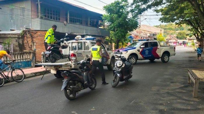 Balap Liar Saat Ramadan, Sejumlah Motor di Majene Dikandangkan Polisi