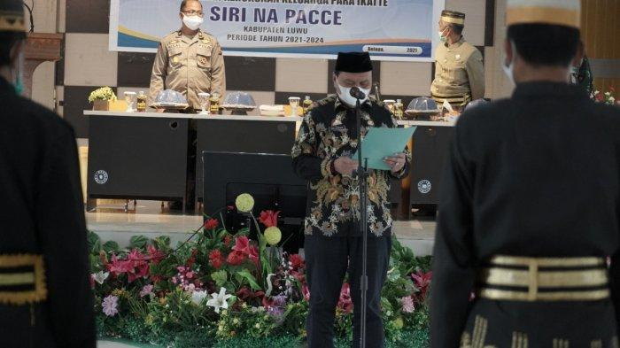 Wakapolres Jabat Ketua Kerukunan Keluarga Para Ikatte Luwu Periode 2021-2024