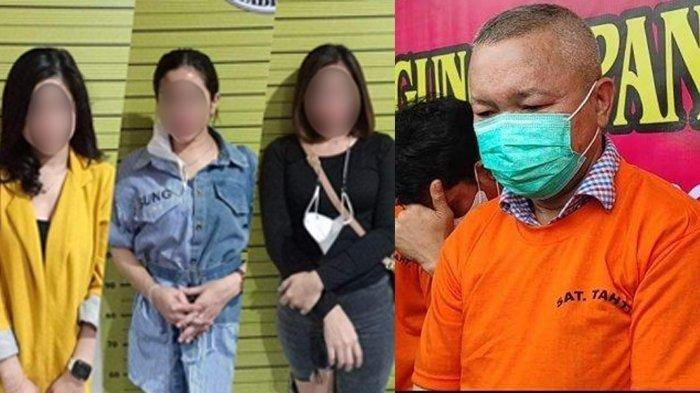 FAKTA Baru Penangkapan Sekda Nias Utara Yafeti Nazara, Dilayani Siswi Cantik dan 4 Wanita Muda