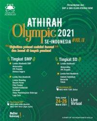 Athirah Olympic 2021 Digelar Dua Hari, Ini yang Dilombakan