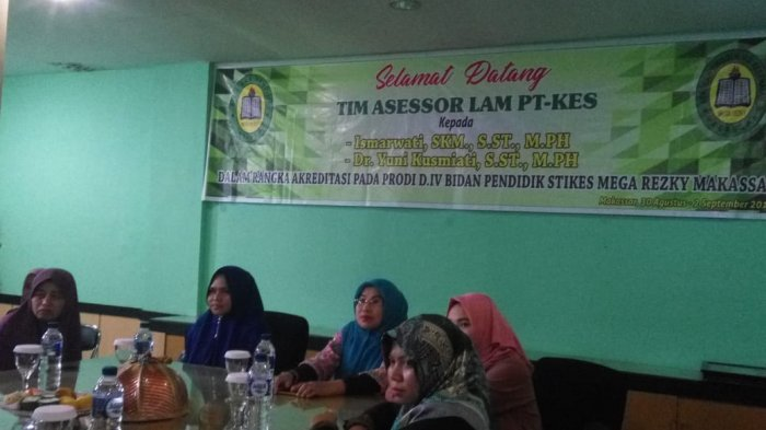 Prodi D IV Bidan Pendidik Stikes Mega Rezky Makassar Raih Akreditasi B