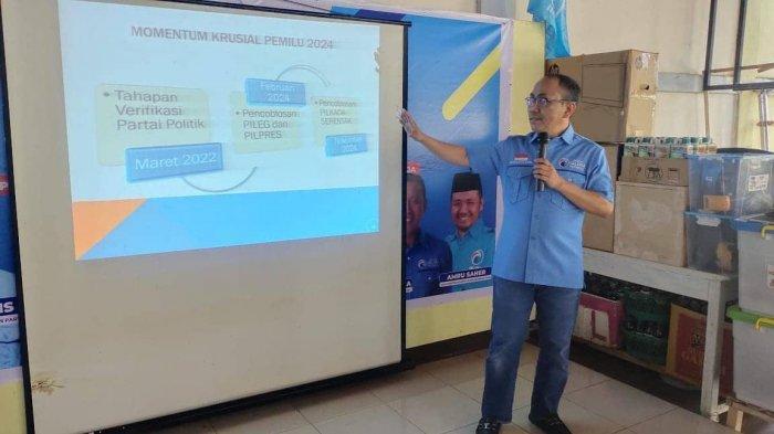 Partai Gelora Target 3 Besar di Pileg Sulsel 2024