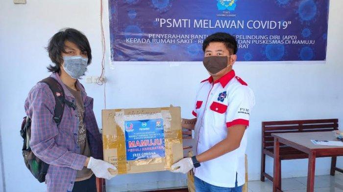 PSMTI Sulbar dan Mamuju Kembali Salurkan Bantuan APD untuk Penanganan Covid-19