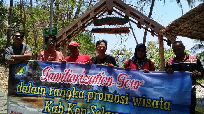 Itinerary Familiarization Tour Sambangi Pantai Punagaan Selayar Begini Kritikannya Tribun Timur