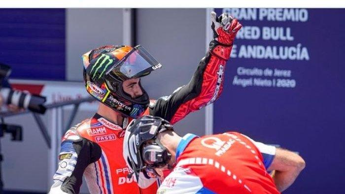 MotoGP San Marino 2020 - Belum Pulih 100 Persen, Francesco Bagnaia Tak Menyangka Bisa Lewati Rossi