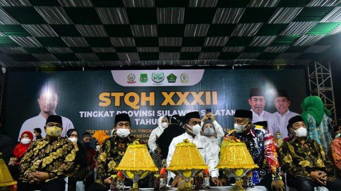 STQH XXXII Sulsel di Sidrap Resmi Dimulai, Dibuka Plt Gubernur Andi Sudirman Sulaiman