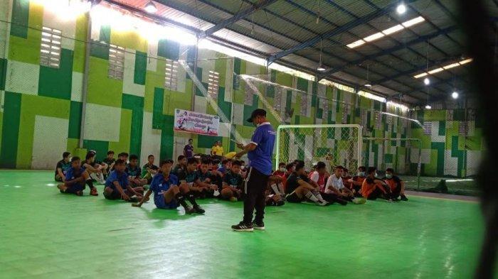 16 Tim Bakal Perebutkan Piala Bergilir Kejuaraan Futsal Antar Pelajar se-Maros