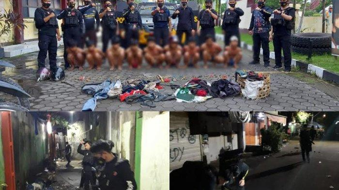Sembilan Pelaku Perang Kelompok Cambayya Vs Barukang Makassar Ditangkap Polisi