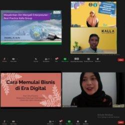 Kegiatan Seminar Kewirausahaan Nasional Badan Eksekutif Mahasiswa Poltekkes Kemenkes Makassar