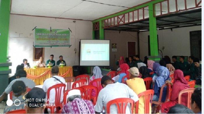 Mahasiswa KKN UMI di Desa Alesipitto Pangkep Gelar Seminar Program Kerja