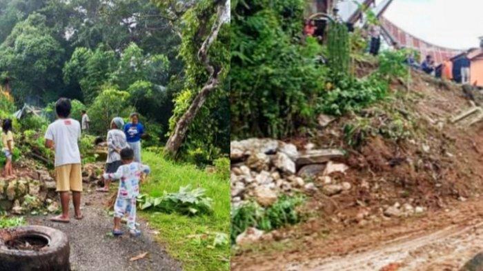 Longsor di Ariang Tana Toraja Sudah Bisa Dilalui Kendaraan