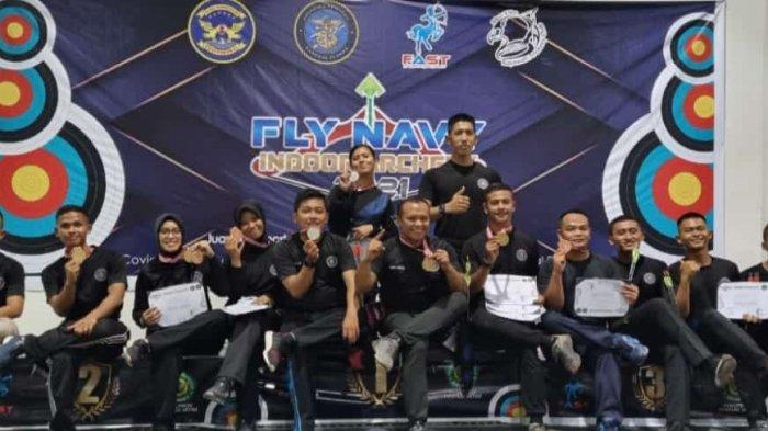 Tim Panahan Senerbal Juarai Event Fly Navy Indoor Archery 2021