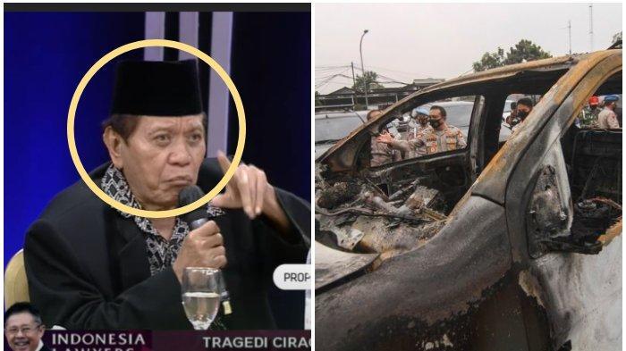 Serunya ILC TV One Semalam, Senior Prabowo Sebut orang yang Disalahkan Tragedi Ciracas TNI vs Polisi