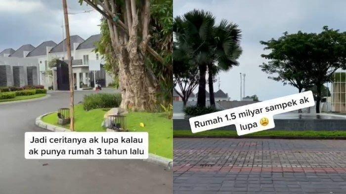 Seorang perempuan dari Lamongan Jawa Timur lupa pernah beli rumah Rp 1,5 miliar.