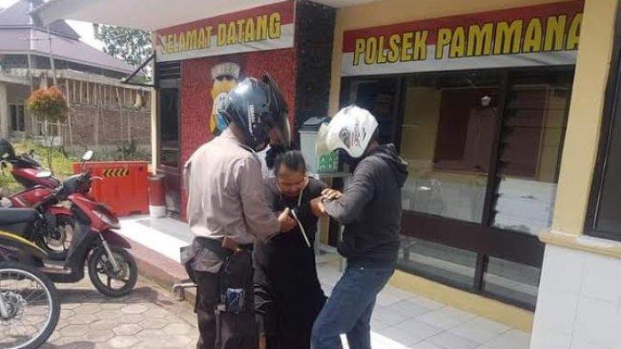 Aksi Sunarti, Pedagang Wajo Kejar Pencuri Rokok Seharga Rp 3 Juta Lebih