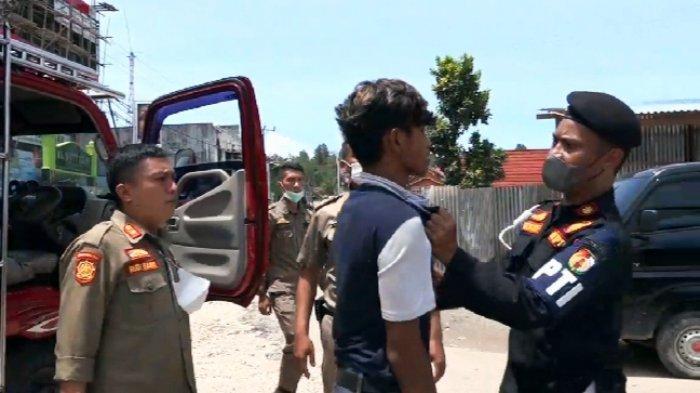 Gas-gas, Sopir Truk Nyaris Digebuk Satpol PP Toraja Utara