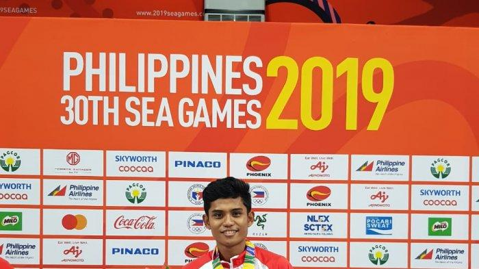 Tumbangkan Malaysia di Nomor Pertandingan Mens Team, Atlet Pinrang Persembahkan Medali