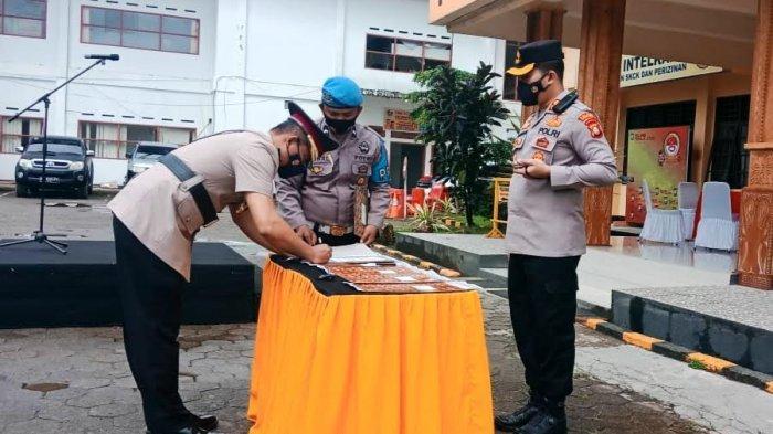 Kompol Gani Jabat Kapolsek Rantepao Toraja Utara
