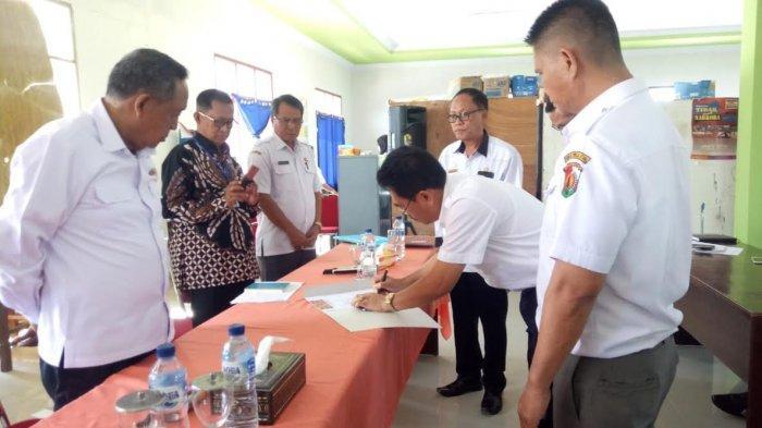Hadiri Sertijab Kadis Pendidikan Hasil Seleksi, Bupati Toraja Utara Sampaikan ini