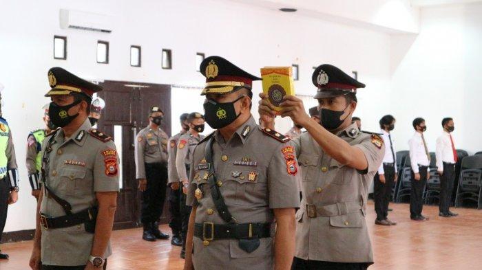 Gantikan Kompol Jamaluddin, Kompol Muhabar Jabat Wakapolres Pinrang yang Baru