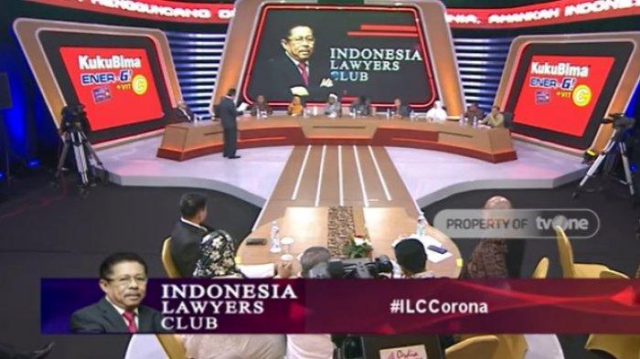 Serunya ILC TV One Tadi Malam, 02 Natuna Berani Kritik Kebijakan Pemerintahan Jokowi tentang Corona
