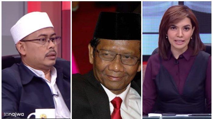 Serunya Mata Najwa Tadi Malam, Slamet Ma'arif Buka Borok Mahfud MD soal Habib Rizieq, Jilat Ludah?