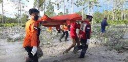 Mayat Mengambang di Sungai Rongkong Dibawa ke RSUD Andi Djemma Masamba