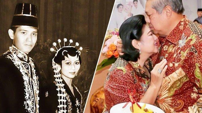 Setia Selama 43 Tahun, Begini Awal Kisah Cinta Ani Yudhoyono-SBY, Jatuh Cinta Pandangan Pertama
