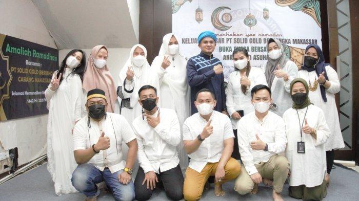Solid Gold Berjangka Makassar Gelar Tebar Semangat Kebaikan Ramadan