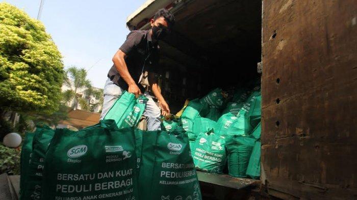 Indomaret-SGM Eksplor Salurkan Bantuan Rp 1 M, Dukung Gizi Keluarga Terdampak Pandemi