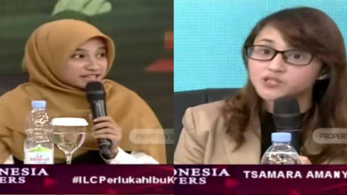 Sherly Annavita Sindir Jokowi di ILC TVOne, Rocky Gerung, Fadli Zon, Tsamara Amany Lakukan Hal Ini