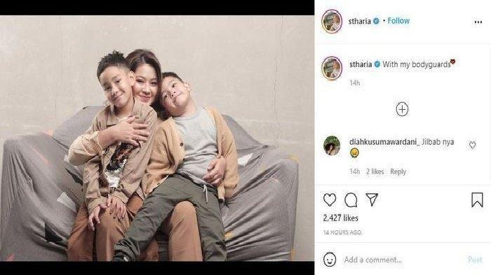Sherrin Tharia pilih lepas jilbab
