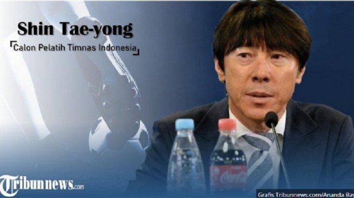 Shin Tae-yong Dipercaya Sebagai Pelatih Timnas Indonesia, PSSI: Diperkenalkan Januari 2020