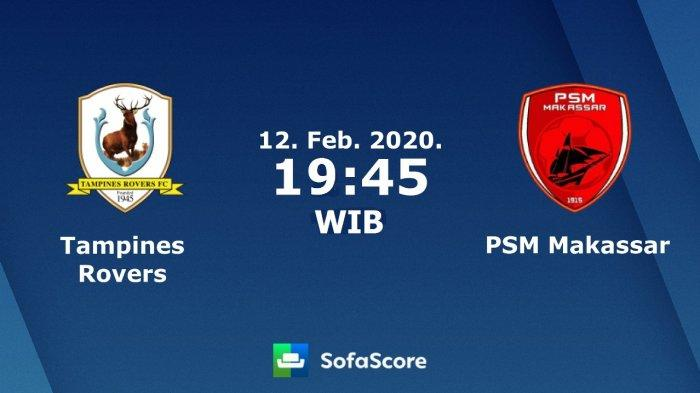 Nonton TV Online 4 LINK Live Streaming AFC Cup 2020 Tampines Rovers vs PSM - Nonton di Live iNews TV