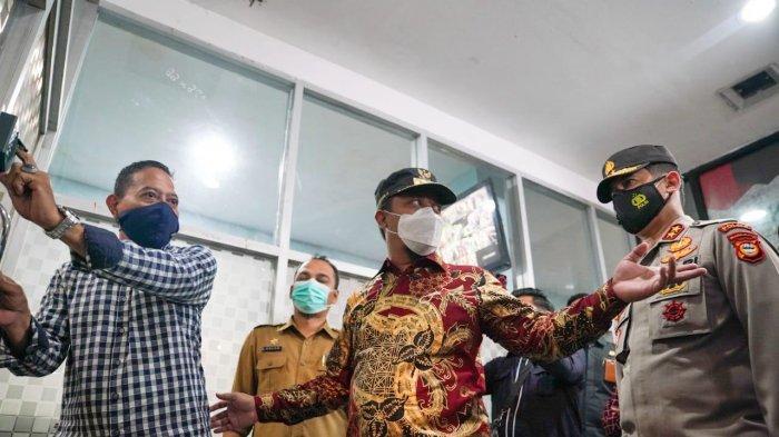 Pantau Pusat Perbelanjaan Jelang Lebaran, Plt Gubernur Sulsel Minta Pengelola & Penjual Taat Prokes