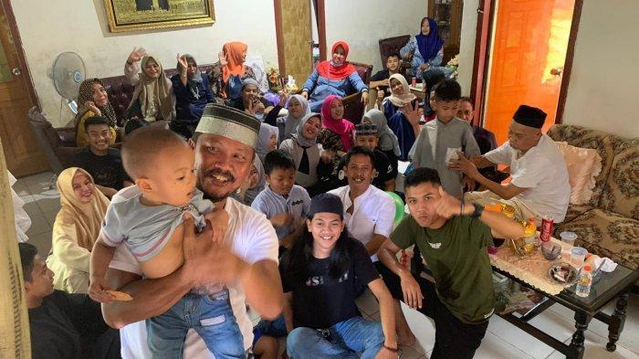 Cerita Lebaran Bersama Rumpun Keluarga 19 Anak, 22 Cucu, 1 Cicit dan 1 Bakal Cicit